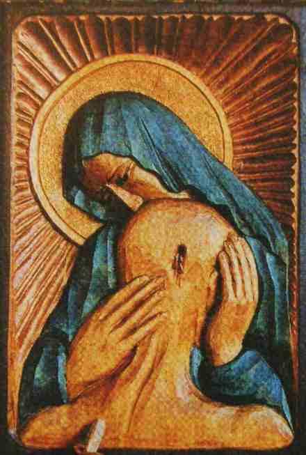 Obraz Matki Bożej Katyńskiej