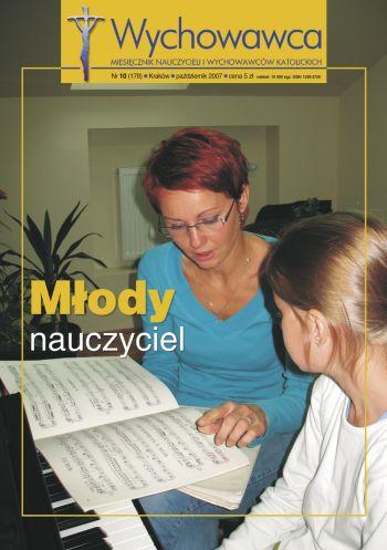 Młody nauczyciel - Wychowawca 10/2007
