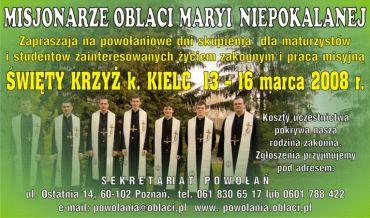 Rekolekcja dla maturzystów na Świętym Krzyżu