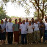 Bp Wiktor Skworc spotkałsię z polskimi misjonarzami pracującymi w Czadzie