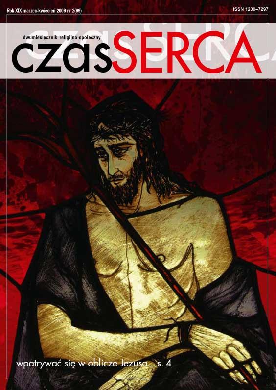 wpatrywać się w Oblicze Jezusa