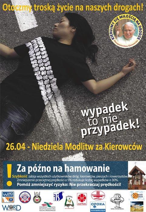 III Ogólnopolski Dzieł Modlitw za Kierowców 26 kwietnia