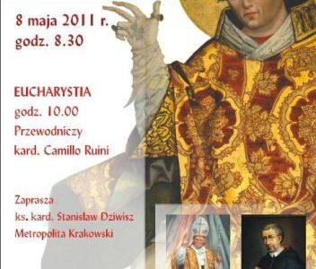 Procesja św. Stanisława z litanią do bł. Jana Pawła II