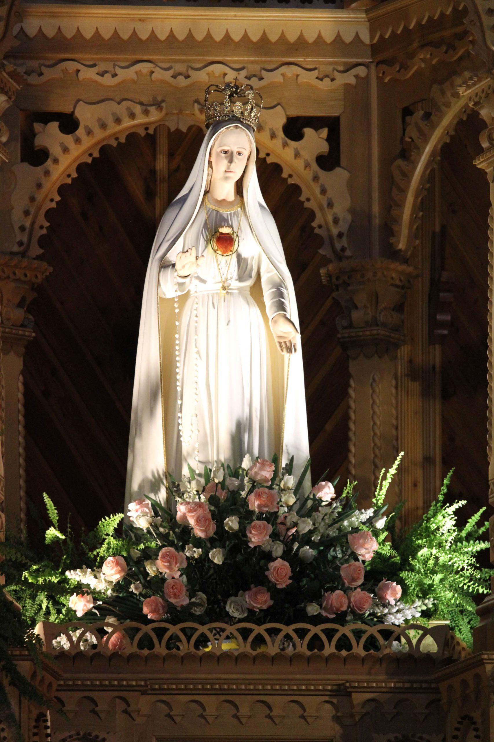 nabożeństwo pięciu pierwszych sobót miesiąca, wynagradzamy Twemu Sercu, Maryjo!