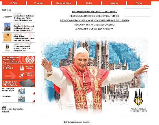 Podróż Benedykta XVI do Hiszpanii