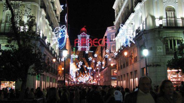 Feliz Navidad święta Bożego Narodzenia W Hiszpanii Ewangelizacja