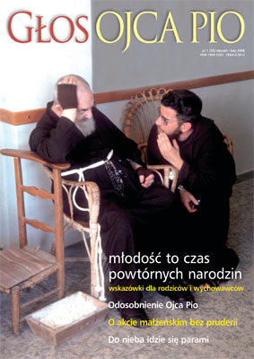"""Głos Ojca Pio"" (nr 55/2009)"