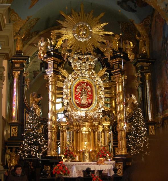 Ołtarz Kalwaria Zebrzydowska