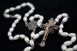 Rosary white? Uploaded by notoryczna sxc.hu