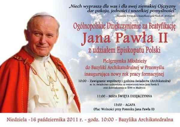 2011 Dzień Papieski – W roku beatyfikacji ? Tydzień Papieski