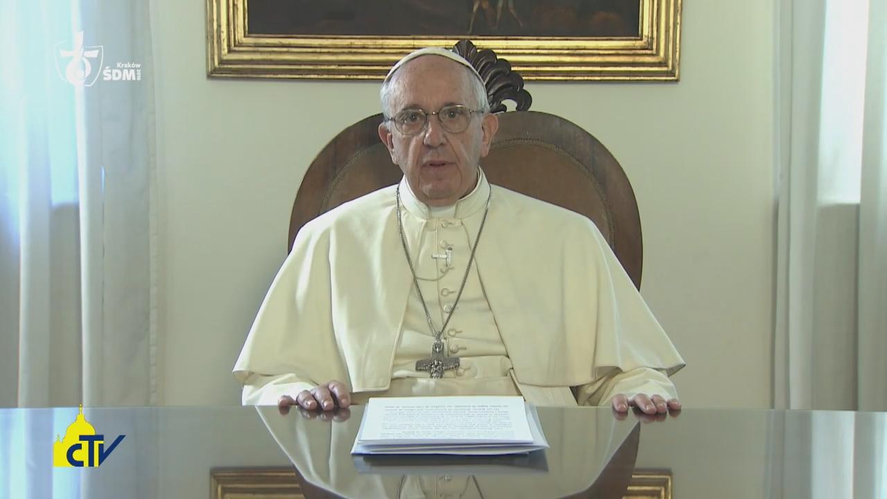 papież Franciszek mówi o nadziejach, jakie wiąże ze spotkaniem z młodymi na polskiej ziemi
