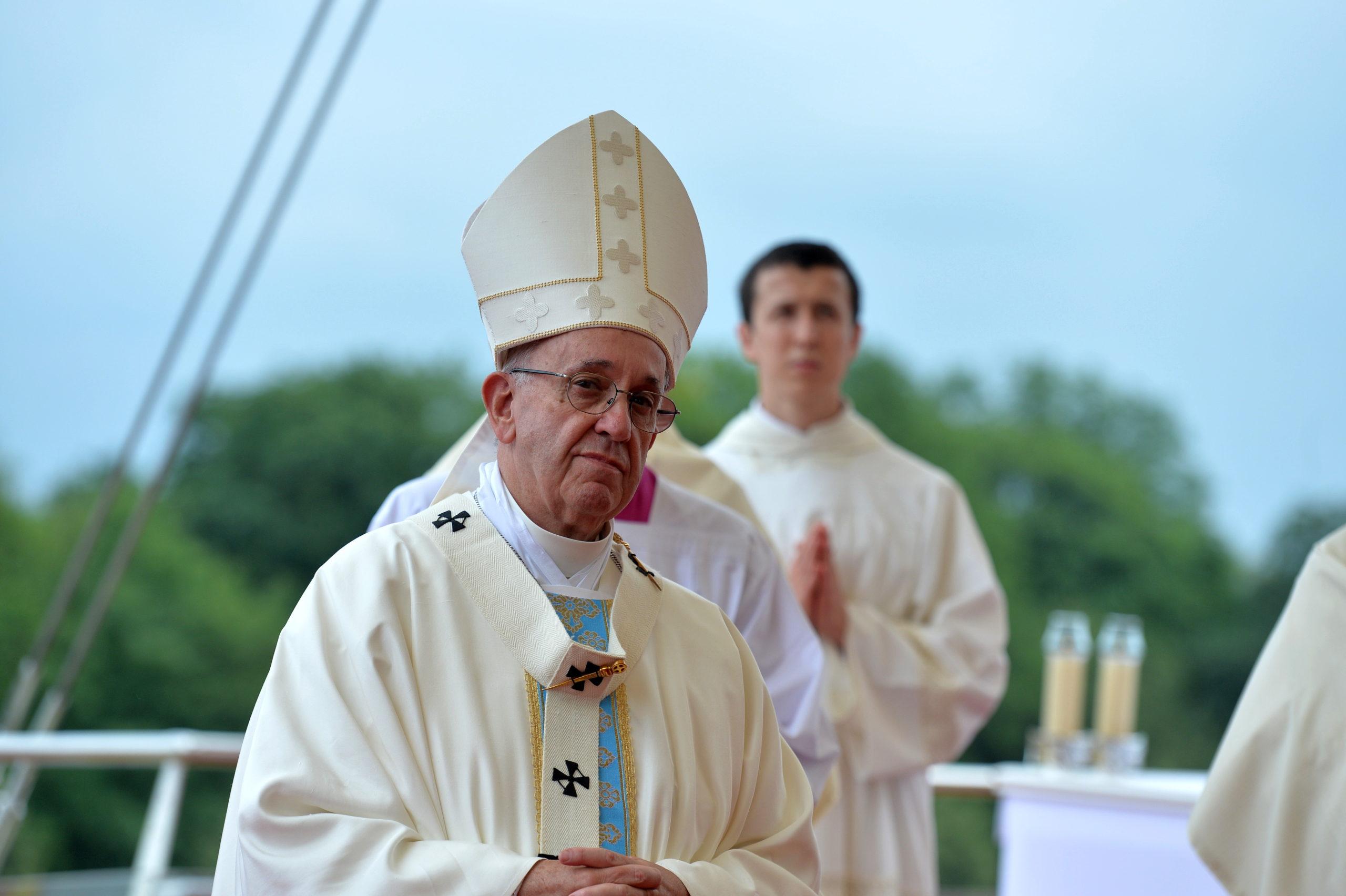 Papież Franciszek na Jasnej Górze, 28 VII 2016