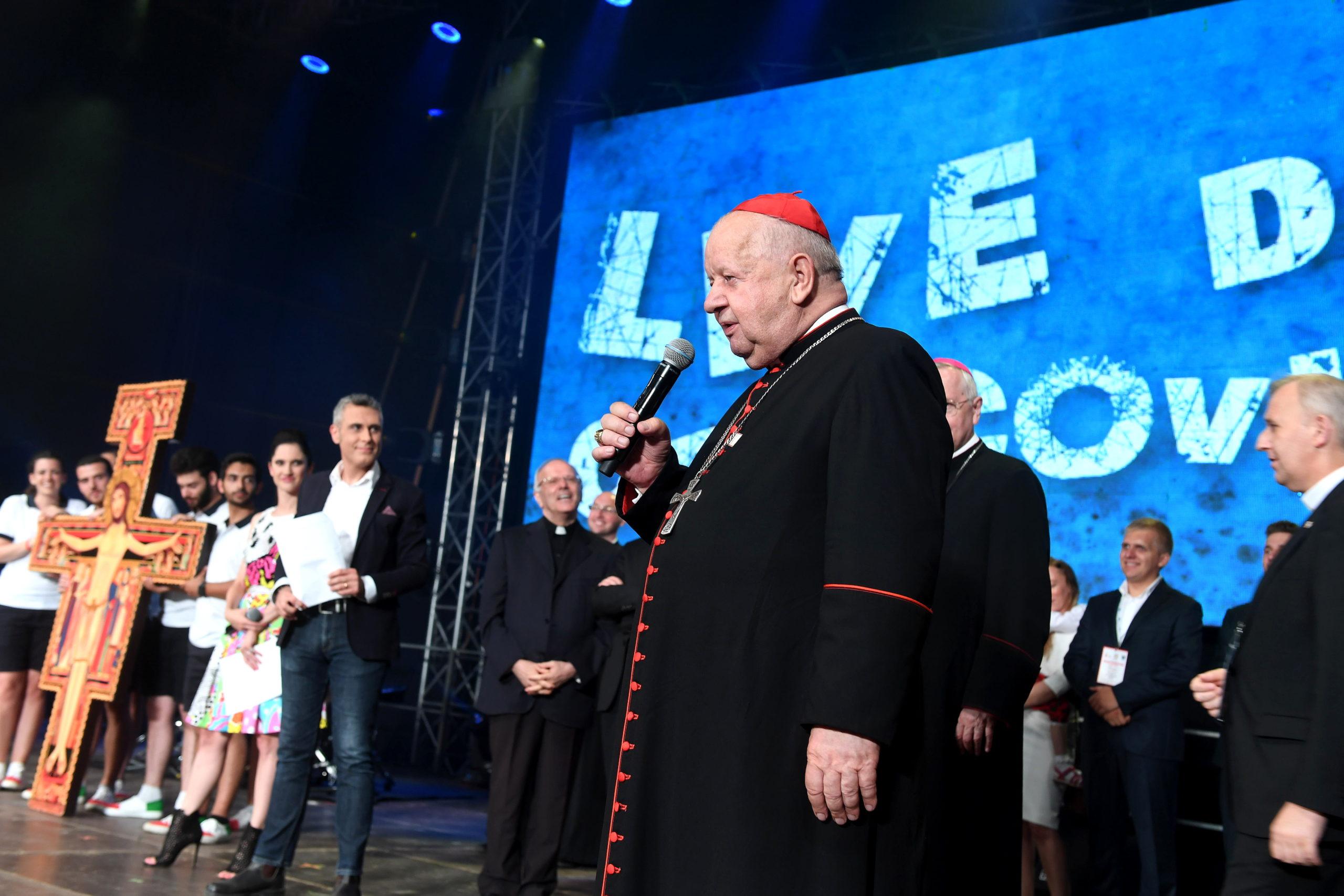 Przekazanie Krzyża z San Damiano, 27 VII 2016