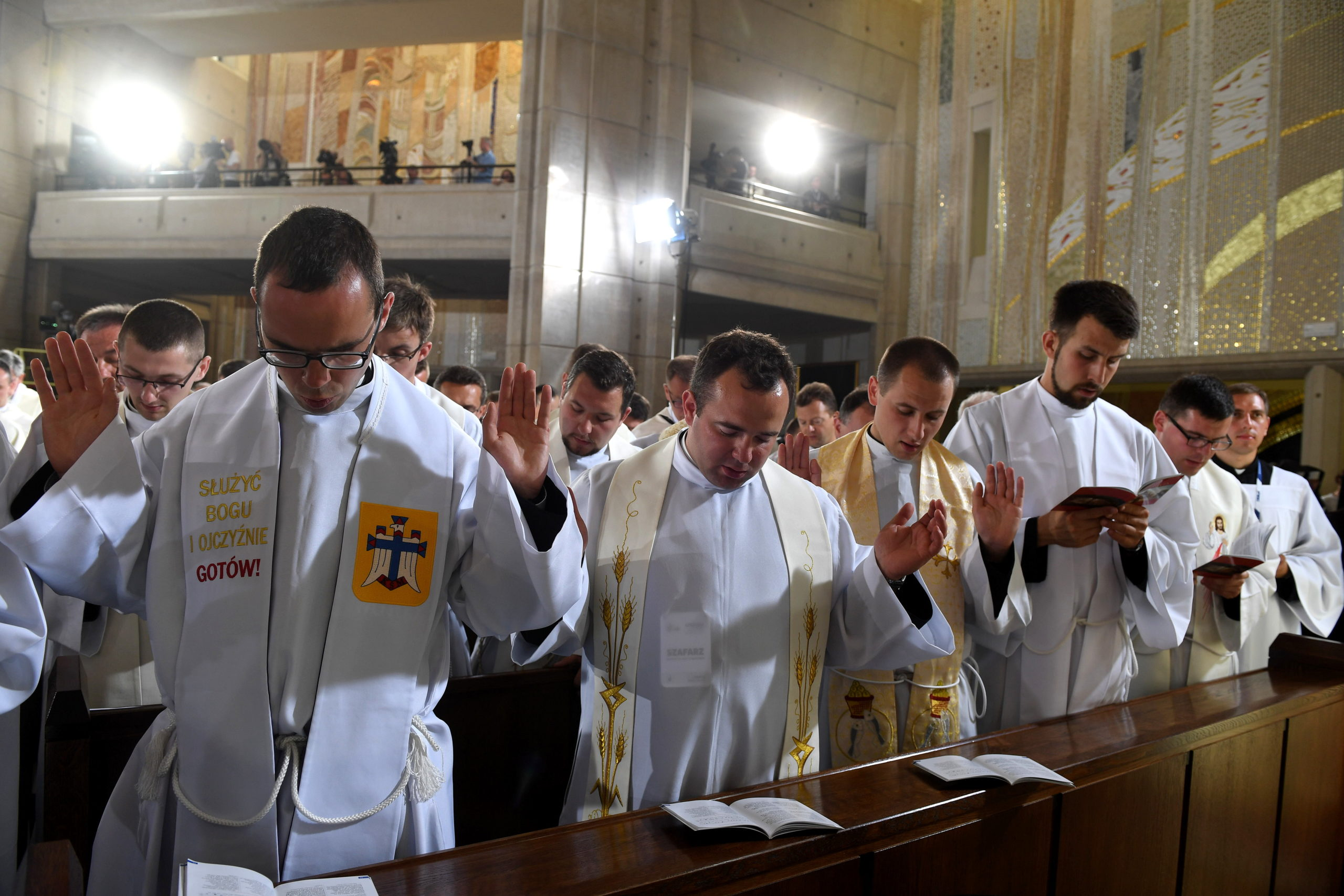 Papiez Franciszek w Sanktuarium św. Jana Pawła II, 30 VII 2016